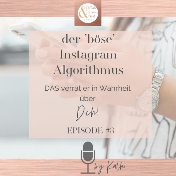 """Folge#3 Magic Kathi Talk: DAS verrät der """"böse Instagram Algorithmus"""" in Wahrheit über Dich!"""