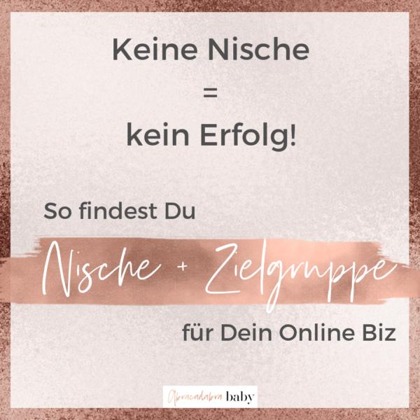 Warum Dein Online Business ohne klare Nische verloren ist + wie Du sie definieren musst!