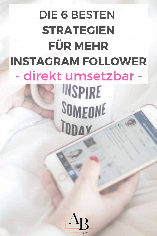 Strategien für mehr Instagram Follower