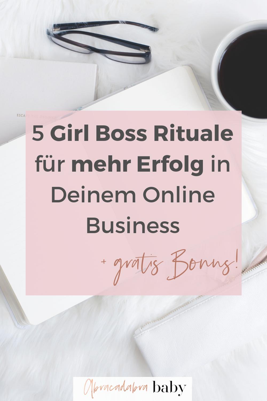 Girl Boss Habits für mehr Erfolg in der Selbstständigkeit
