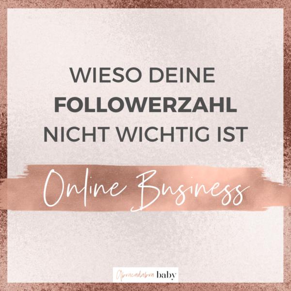 Online Business starten: wieso Deine Followerzahl keine Rolle spielt!