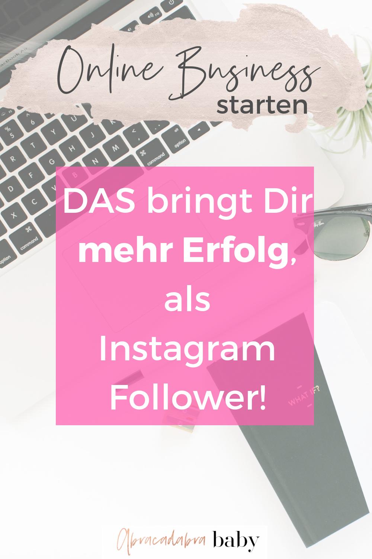 Werde auch ohne Instagram Follower mit Deinem Online Business zum Girl Boss!