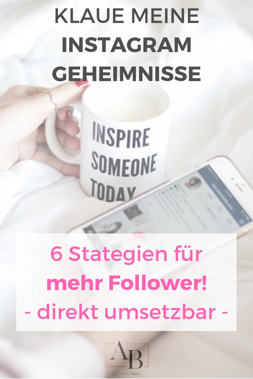 In 6 einfachen Schritten mehr Instagram Follower bekommen kann so einfach sein. Ich verrate Dir meine Lieblings Tipps für mehr Reichweite und Engagement auf Social Media für Dein Girl Boss Online Business.