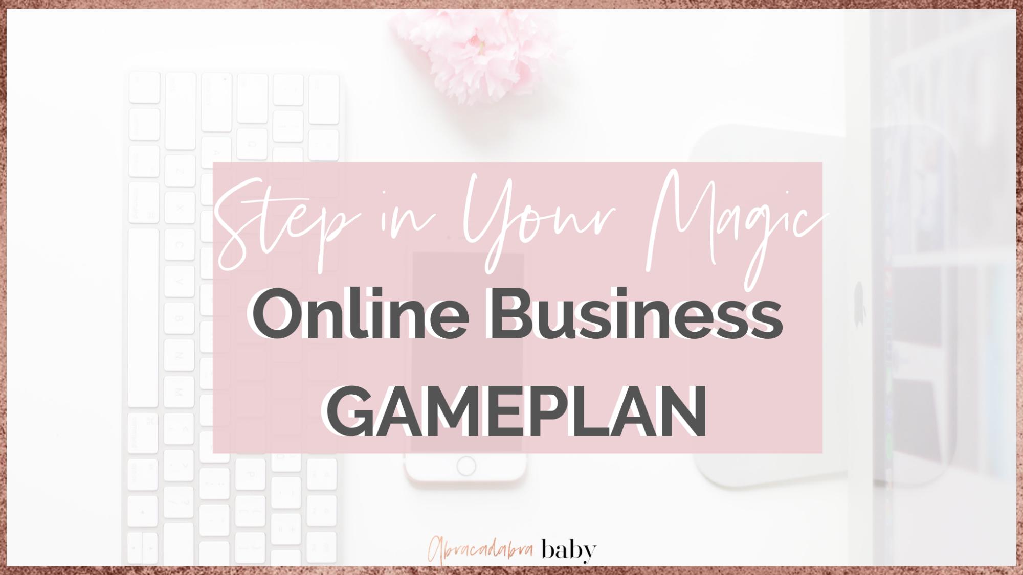 Girl Boss Plan für Deinen Business Erfolg, damit Du von Zuhause arbeiten kannst