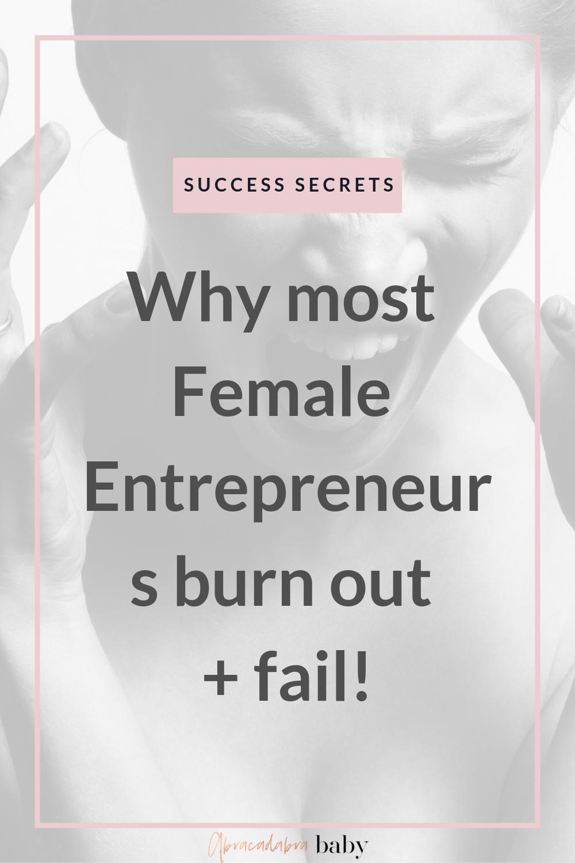 how to overcome burn out as an female entrepreneur! #girlboss secrets