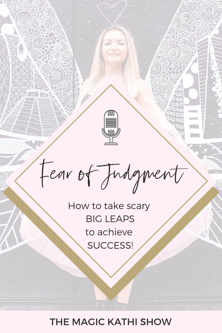 Are you scared people judge you? Is this limiting belief holding you back from achieving your dreams and success? Learn how to take big leaps and make changes feel normal as a spiritual entrepreneur!