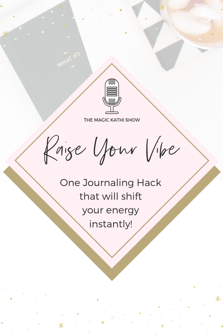 Is journaling a part of your daily routine? The majority of successful female entrepreneurs leverage the power of their morning routine. Besides meditation, breath work + movement, writing is a big part of it. I'm obsessed with the MAGIC of this amazing tool. That's why I wanted to share my little hack with you.THIS energy shift can literally turn your whole day around. You'll feel and hear in this episode how excited I am about it. So soak into the energy, feel the feels and start living in a higher frequency. Of course my favorite tool – Journaling – is the focus of this mini hack. If you don't know how to leverage journaling in your morning routine, go ahead and listen sister