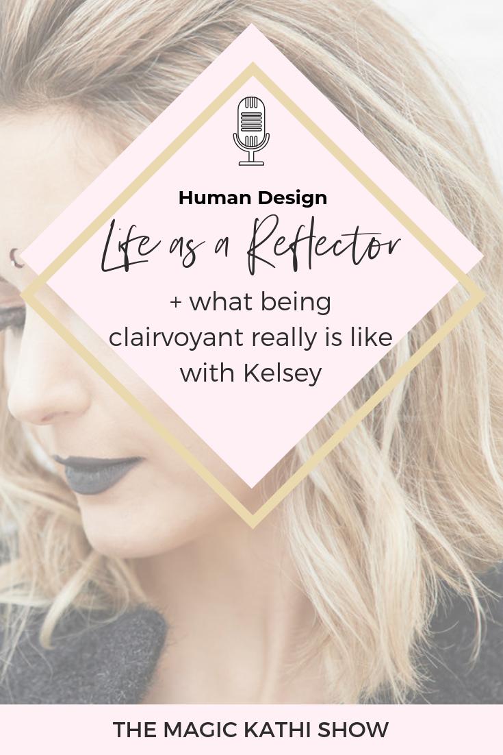 human design reflector