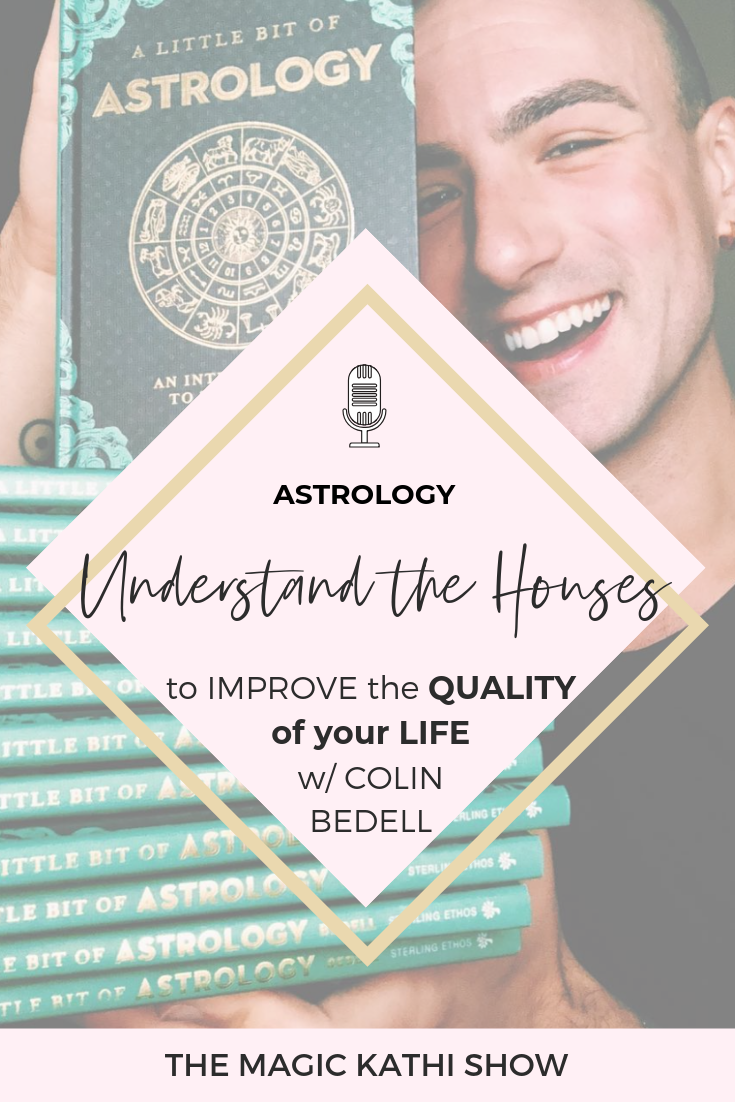 Astrology can help us in so many ways. It can help you understand yourself, your purpose and challenges, but also help you improve your relationships. This Interview with Astrologer Colin Bedell from QueerCosmos and Cosmopolitan is gem packed. We had such a blast geeking out on Astrology, the polarity between the 1st and the 7th house, the epidemic of loneliness in our society and how to use our cosmic blueprint to improve the quality of our lives. Best advice for your love life + friendships!