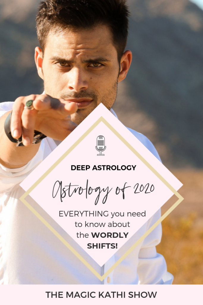 The Astrology of 2020 will be INTENSE! We are looking at 6 eclipses and an electrifying Saturn Pluto Conjunction in Capricorn highlighted by a lunar eclipse. But what does this all mean for us?