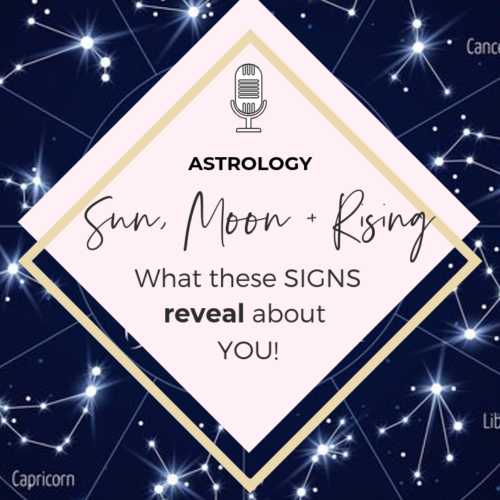 36 | The Difference between your Sun, Moon & Rising sign in your Birth Chart | Deep Astrology