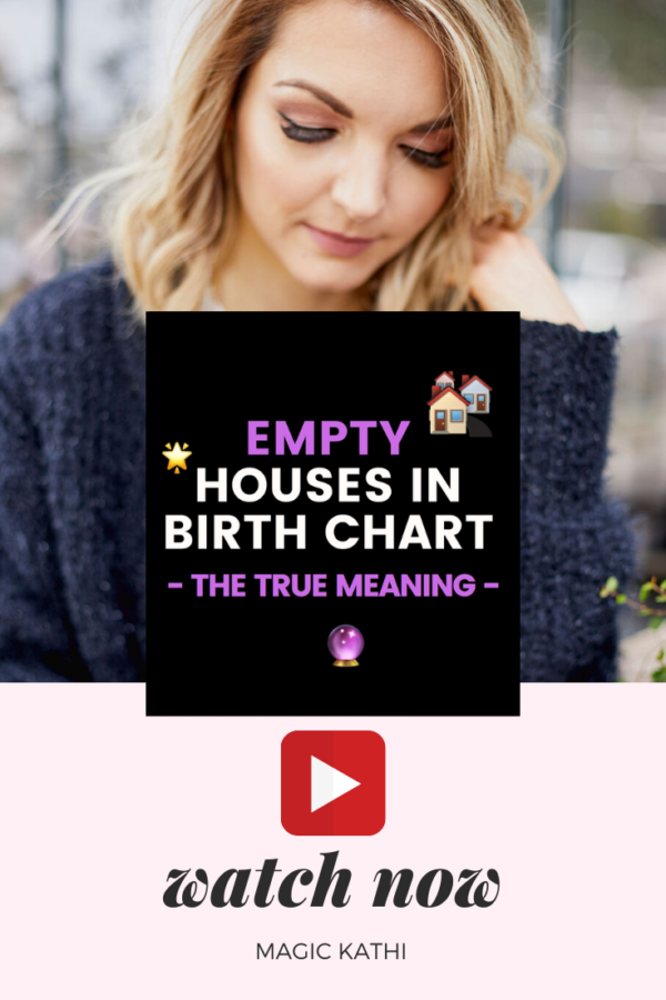 How to interpret Empty Houses in the Birth Chart | Astrology 101