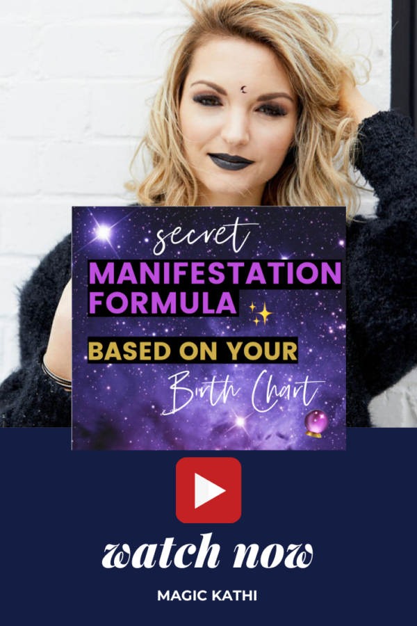 The secret to Manifest your Desires with Astrology and your Birth Chart!