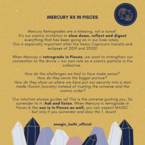 Mercury Retrograde in Pisces 2020