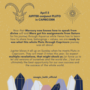 This week in Astrology: Mars enters Aquarius, Pluto Jupiter Conjunction in Capricorn and Venus enters Gemini