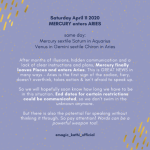 Full Moon in Libra 2020, Mercury enters Aries and major shifts in the collective!