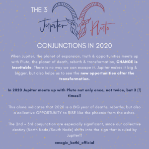 3 Jupiter Pluto Conjunctions in Capricorn in 2020 will change the world, reveal hidden secrets and uncover the truth about humanity and the way we structure the world!