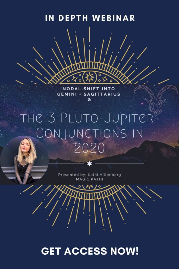 Birth of the NEW WORLD through the 3 Jupiter Pluto Conjunctions in 2020 [incl. WEBINAR]